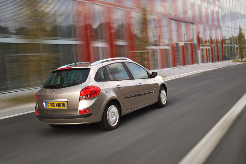 Foto Trasero Renault Clio Familiar 2008