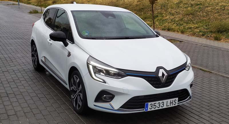 Foto Delantera Renault Clio E Tech Dos Volumenes 2020