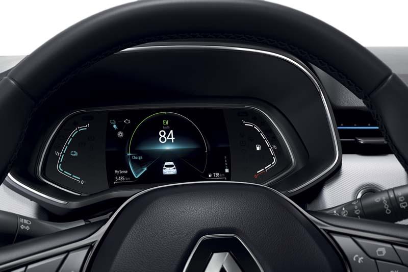 Renault Clio E-TECH, foto cuadro de mandos
