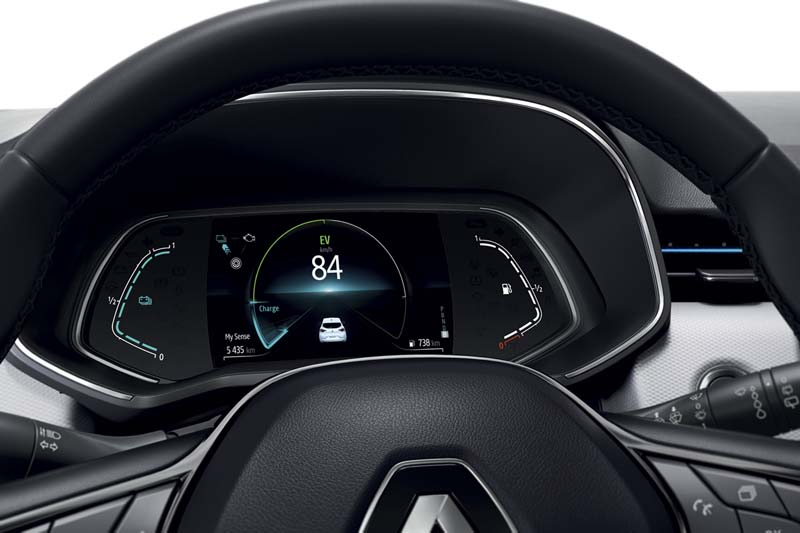 Foto Detalles Renault Clio E Tech Dos Volumenes 2020
