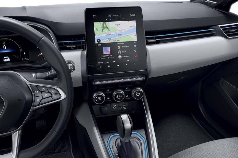 Foto Interiores Renault Clio E Tech Dos Volumenes 2020
