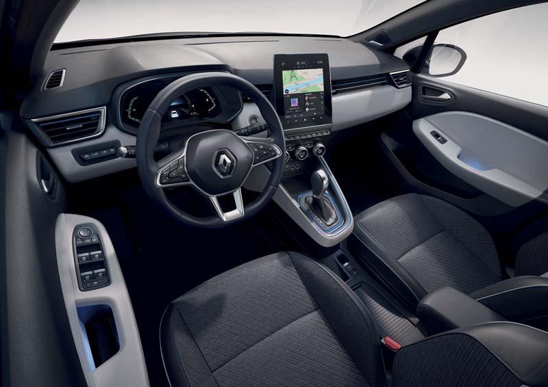 Renault Clio E-TECH, foto salpicadero