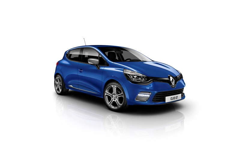 Foto Perfil Renault Clio Gt Dos Volumenes 2013