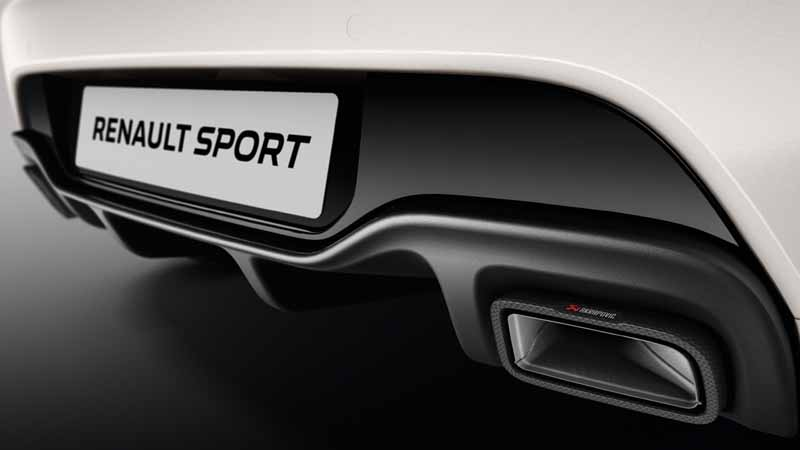 Renault Clio RS Trophy 2016, foto trasera