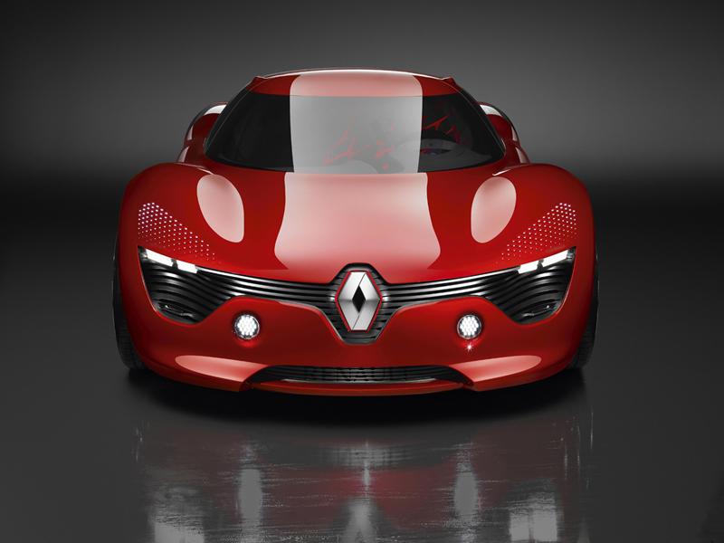 Renault DeZir, vista frontal
