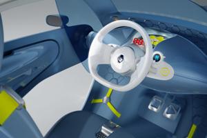 Foto Interior prototipo Renault Ecologia