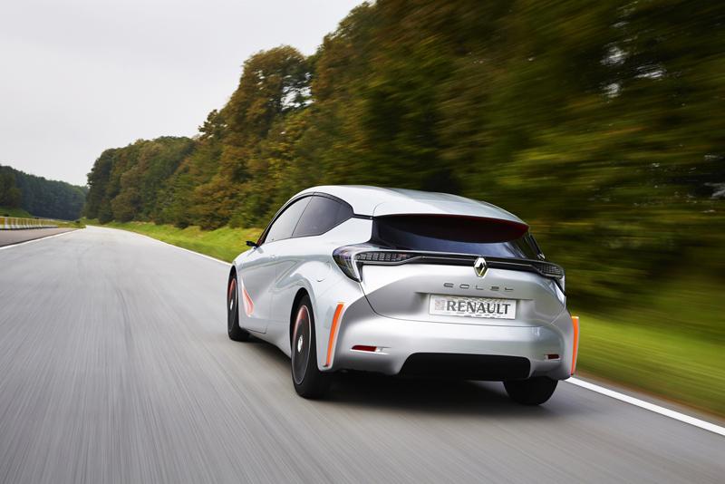 Foto Trasera Renault Eolab Concept 2014