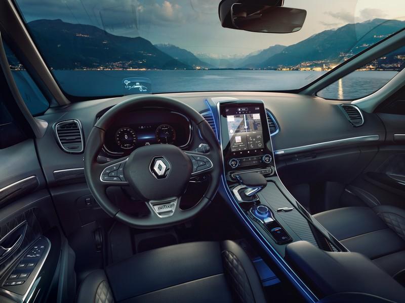 Foto Interiores Renault Espace Monovolumen 2020