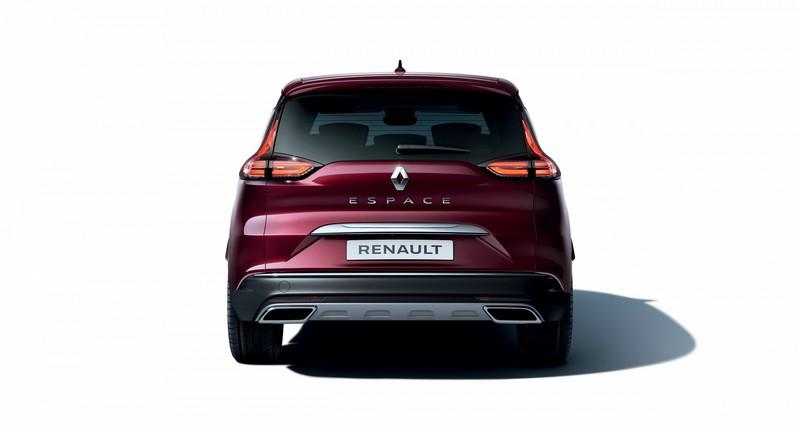Foto Trasera Renault Espace Monovolumen 2020