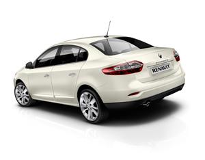 Foto Trasera Renault Fluence Sedan 2012