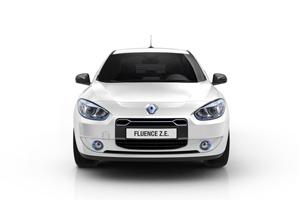 Foto Frontal Renault Fluence-ze Sedan 2010
