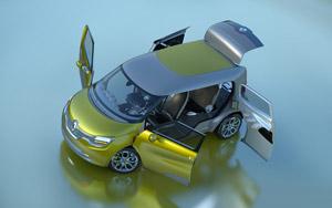 Foto Exteriores (3) Renault Frendzy Monovolumen 2011