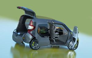 Foto Exteriores Renault Frendzy Monovolumen 2011