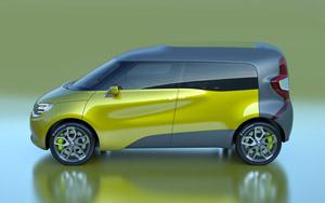 Foto Perfil Renault Frendzy Monovolumen 2011