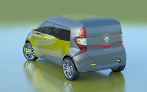 Foto Trasera Renault Frendzy Monovolumen 2011