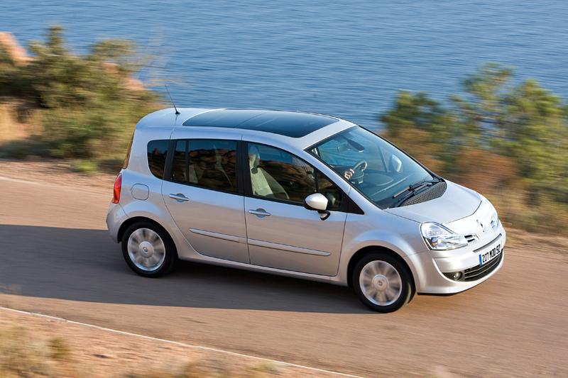Renault Grand Modus, foto exterior