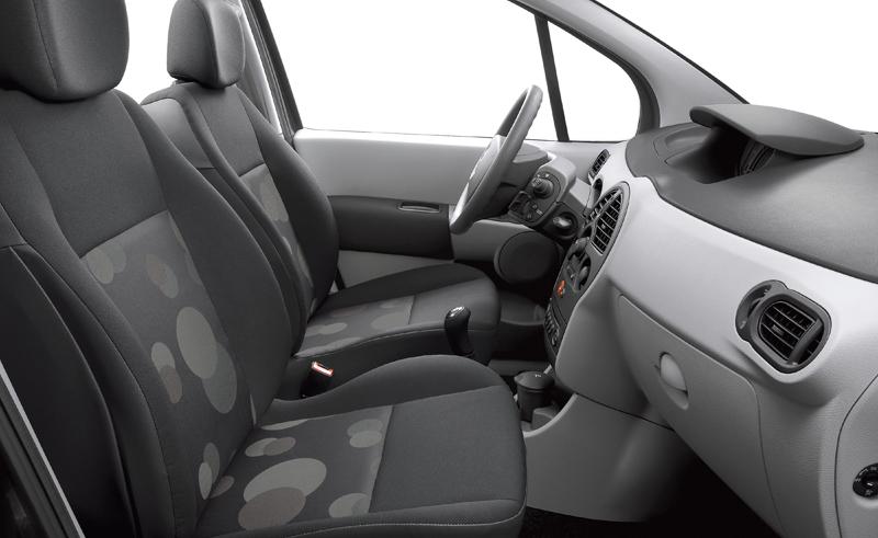 Interiores Renault Grand Modus