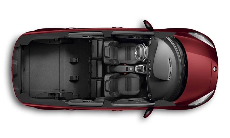 Foto Interiores Renault Grand Scenic Monovolumen 2012