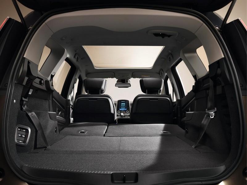 Foto Interiores Renault Grand Scenic Monovolumen 2017