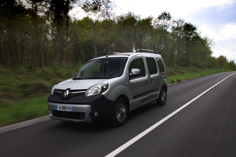 Foto Delantera Renault Kangoo Industria L 2013