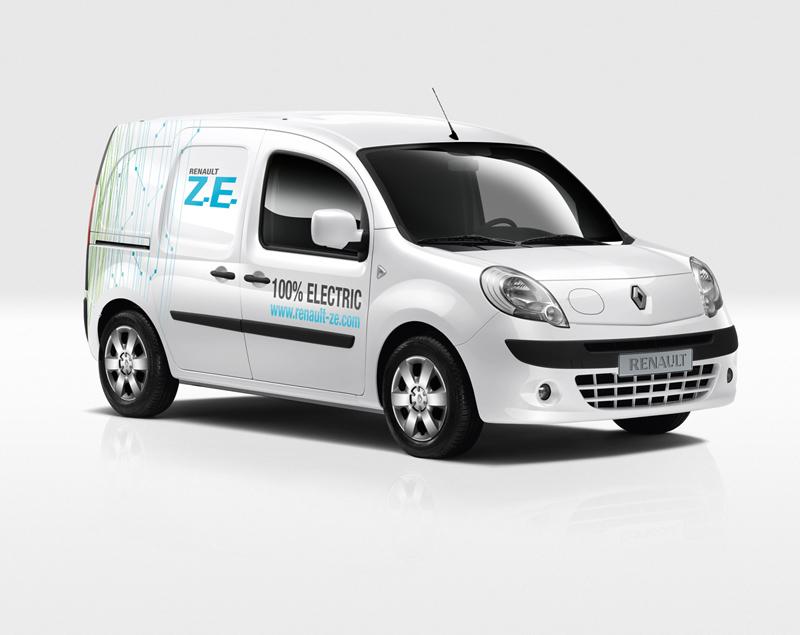Foto Exteriores Renault Kangoo Ze Industrial 2010