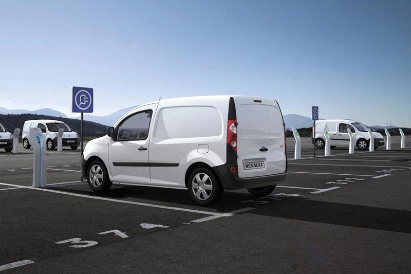 Foto Exteriores Renault Kangoo Ze Industrial 2011