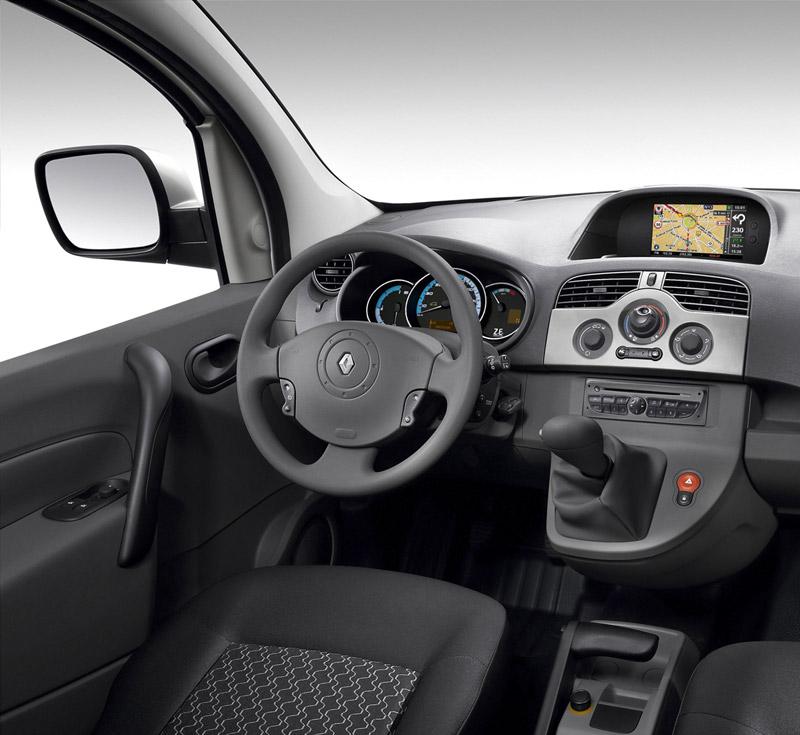 Foto Interiores Renault Kangoo Ze Industrial 2011