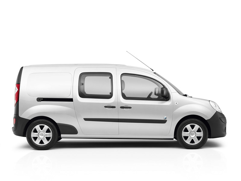 Foto Perfil Renault Kangoo Ze Industrial 2011
