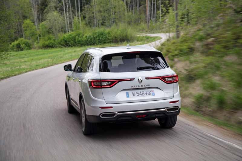Renault Koleos 2017, foto trasera