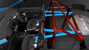 Foto Interiores (1) Renault Kwid-racer Concept 2016
