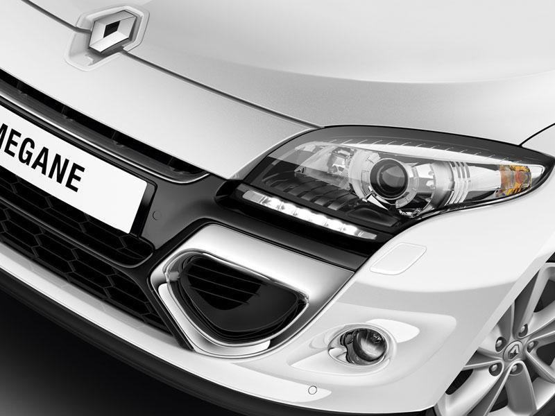 Foto Detalles Renault Megane Dos Volumenes 2012