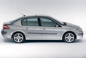 Foto Lateral Renault Megane Sedan 1999