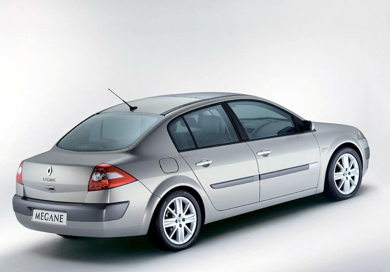 Foto Trasero Renault Megane Sedan 1999