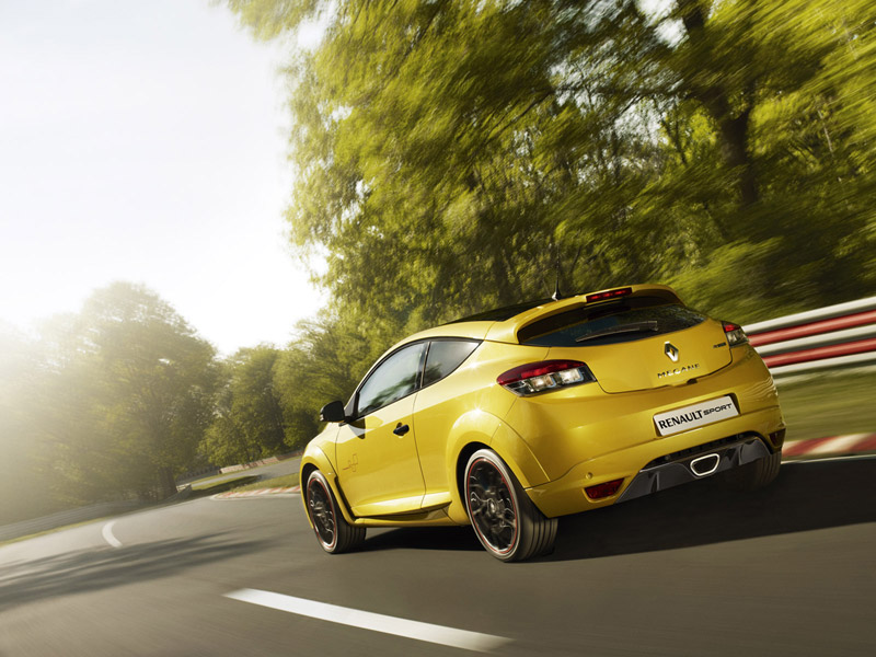 Foto Trasera Renault Megane Rs Cupe 2011