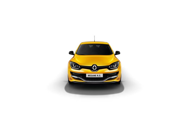 Foto Delantera Renault Megane Rs 275 Trophy Dos Volumenes 2014