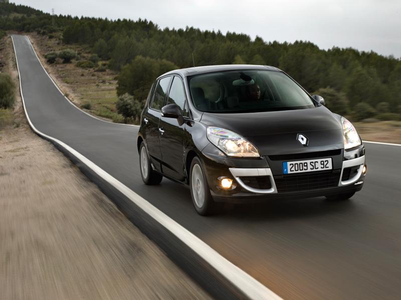 Foto Exteriores Renault Scenic Monovolumen 2010