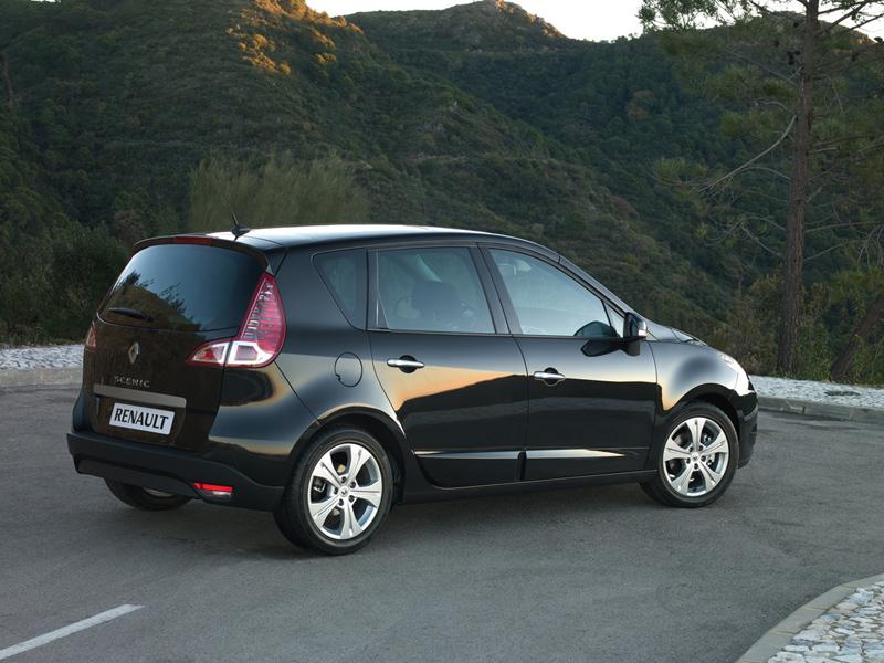 Foto Trasero Renault Scenic Monovolumen 2010