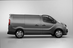 Foto Lateral Renault Trafic Vehiculo Comercial 2014