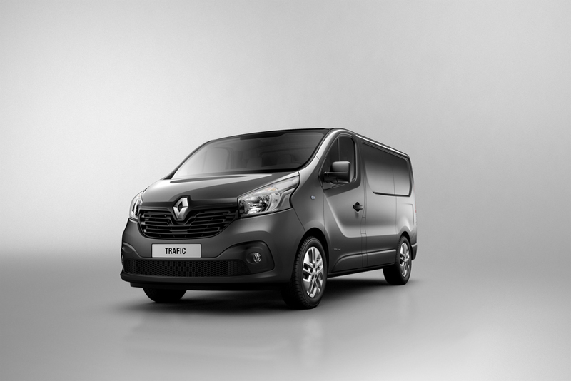 Foto Perfil Renault Trafic Vehiculo Comercial 2014