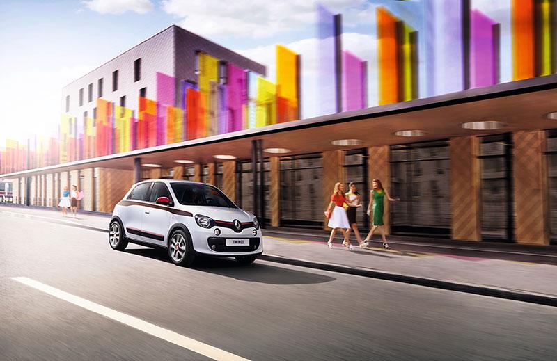 Foto Delantera Renault Twingo Dos Volumenes 2014