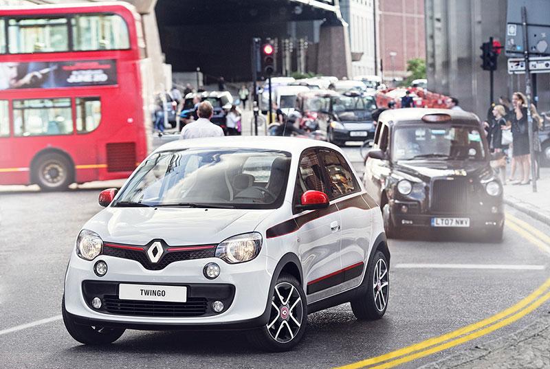 Renault Twingo por la ciudad
