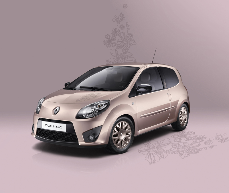 Foto Lateral Renault Twingo Miss Sixty Dos Volumenes 2010