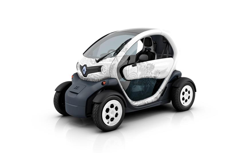 Foto Delantera Renault Twizy Monovolumen 2010