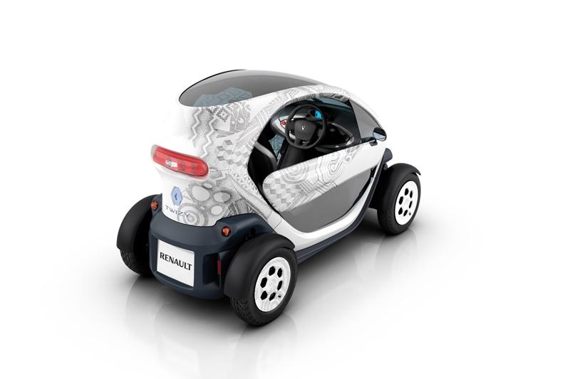 Foto Trasera Renault Twizy Monovolumen 2010