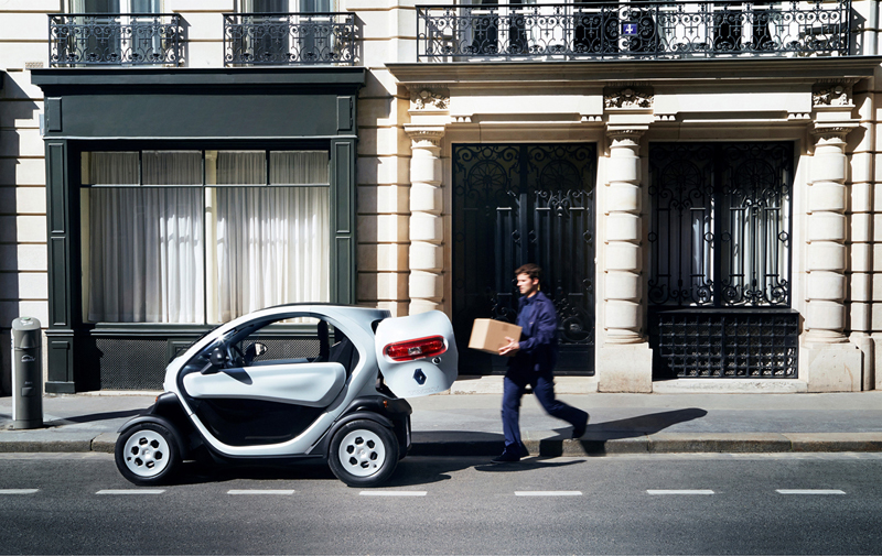 Foto Exteriores Renault Twizy Vehiculo Comercial 2013