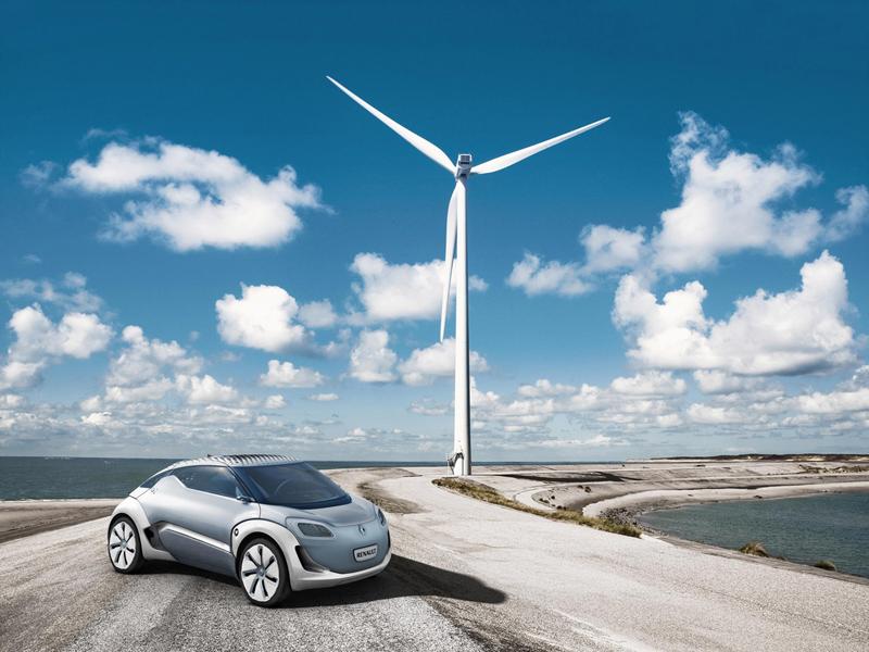 Foto Exteriores Renault Zoe Dos Volumenes 2010