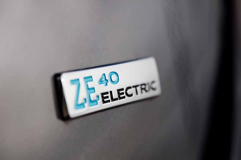 foto logotipo renault zoe ze40