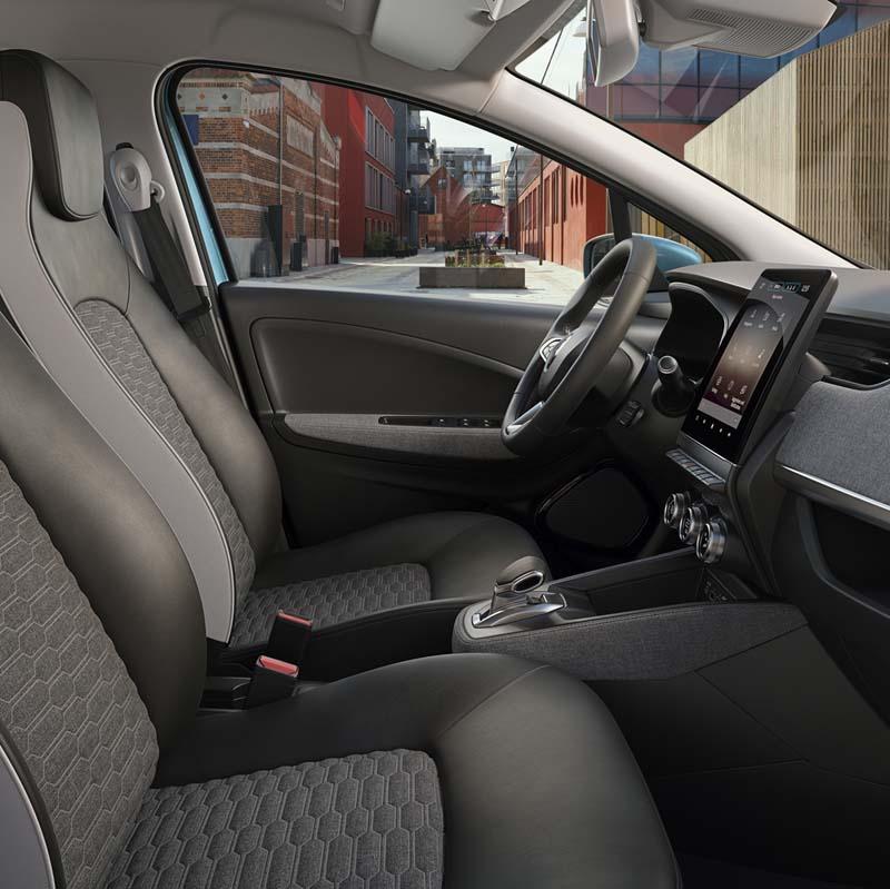 Renault ZOE 2019, foto interior