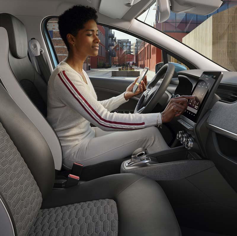 Foto Interiores Renault Zoe Dos Volumenes 2019