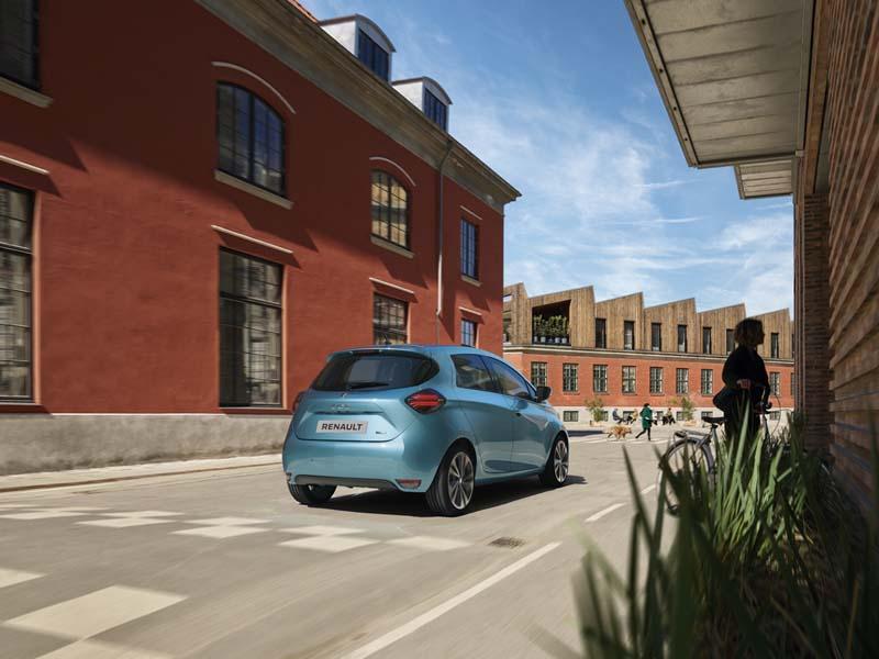 Renault ZOE 2019, foto trasera